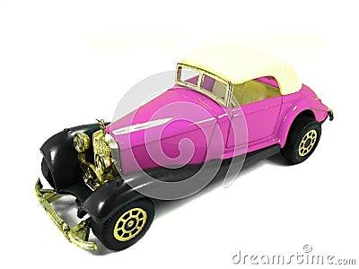 Pink toy car 2