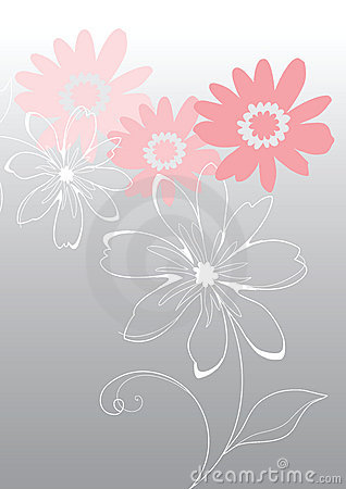 Free Pink Vector Flowers Stock Photos - 9019623