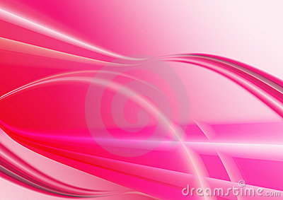 Pink waves background