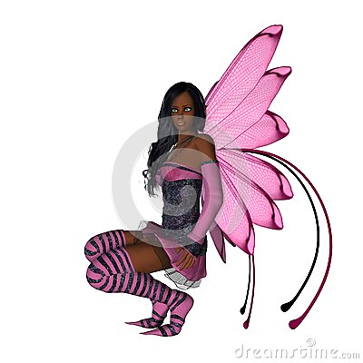Pink Wing Faerie
