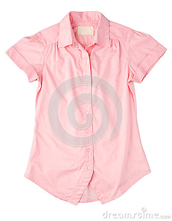 Pink woman shirt