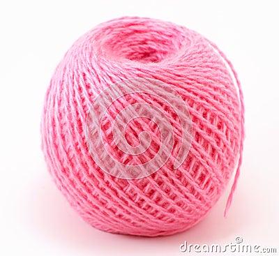 Free Pink Wool Ball Stock Image - 37085421