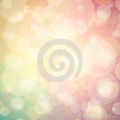 Free Pink Yellow And Blue Green Background With White Bubbles Or Bokeh Lights Royalty Free Stock Photos - 46703578