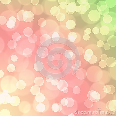Free Pink Yellow  Green Bokeh Glitter Balloon Abstract Background Royalty Free Stock Photos - 102424168