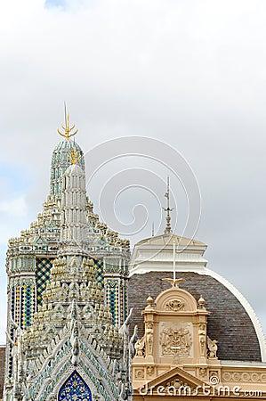 Pinnacle of pagoda