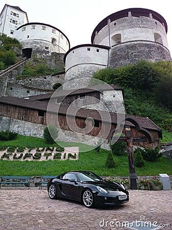 Pinnacle Porsche Editorial Image