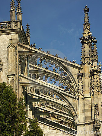 Free Pinnacles And Flying Buttresses Stock Photo - 134630