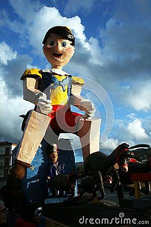Pinocchio Editorial Photo
