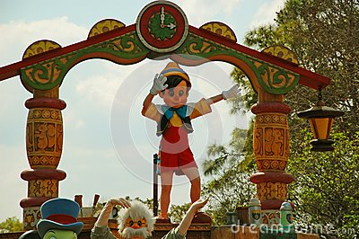 Pinocchio Foto de Stock Editorial