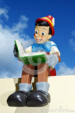 Disney Pinocchio Editorial Image