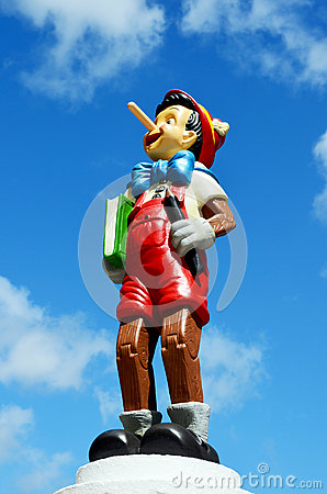 Pinocchio Disney figure Editorial Image