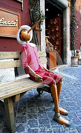 Pinocchio Rome