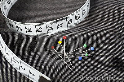 Pins and Measuring Tape