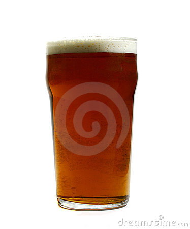 Free Pint Of Beer Stock Image - 121241
