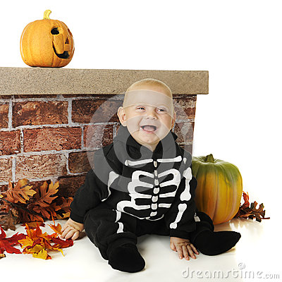 Pint-Sized Halloween Skeleton