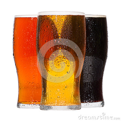 Free Pints Of Beer Royalty Free Stock Photo - 42227615