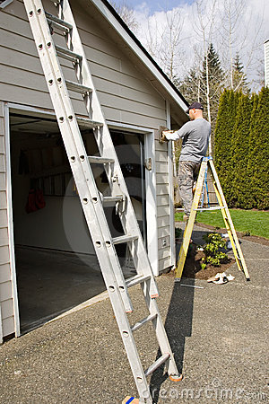 Pintura de casa exterior