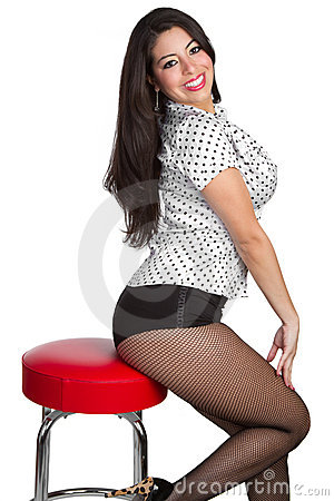 Free Pinup Woman Stock Photography - 13162592