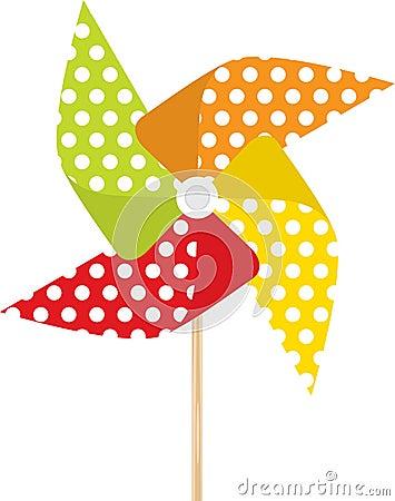 Free Pinwheel Royalty Free Stock Image - 10202276