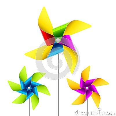Free Pinwheel Toy Royalty Free Stock Image - 15751236