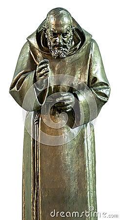 Pio padre (isolated)