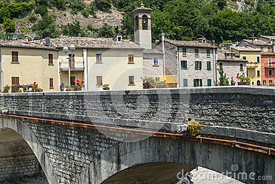 Piobbico, ancient bridge