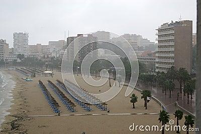 Pioggia al NOVA di Palma