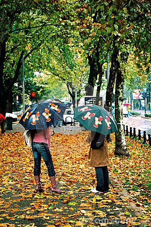 Pioggia di autunno