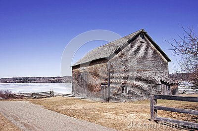 Pioneer Barn - New Brunswick, Canada