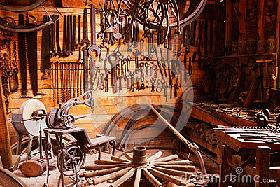 Pioneer tool shed