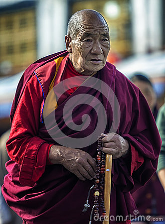 Free Pious Old Monk Royalty Free Stock Images - 79870299