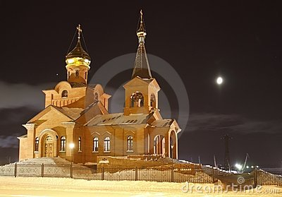 Piously-Vvedensky church, Dudinka
