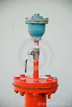 Pipe lines with valve
