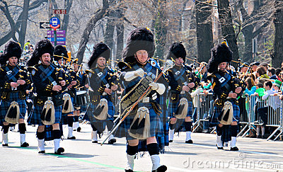 Pipe Major Editorial Stock Image