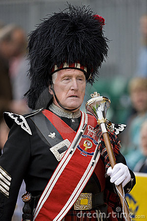 Pipe Major - Highland Games - Scotland Editorial Photography