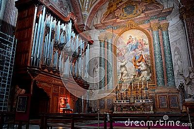 The Pipe Organ of the Church of Santa Maria degli Angeli