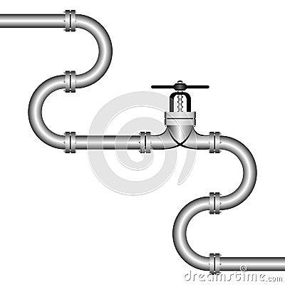 Free Pipeline. Royalty Free Stock Photos - 23078388