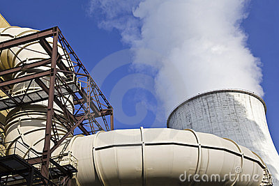 Pipeline and chimney