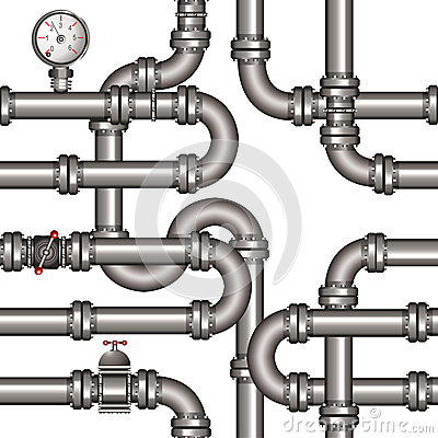 Pipeline seamless pattern