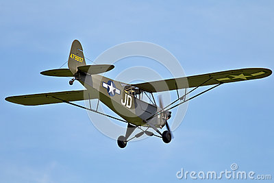 Piper Cub Editorial Stock Image