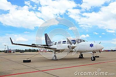 The Piper PA-31 Navajo Editorial Photo