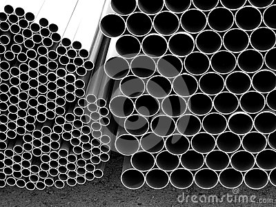 pipes conduit for construction adn building stock photo image 50400272. Black Bedroom Furniture Sets. Home Design Ideas