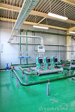 Free Pipes, Tubes, Machinery At Factory Stock Photos - 16573783