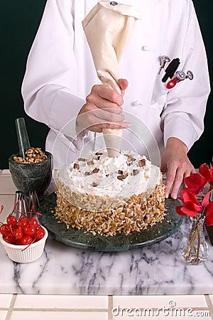 Piping Cake Star