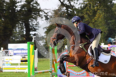 Pippa Funnell show jumping Editorial Photography