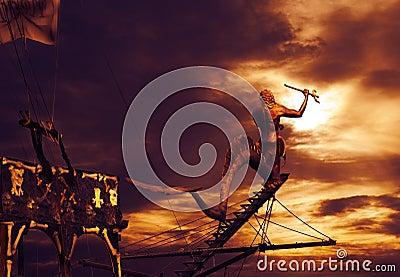 Piraatschip