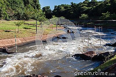 Piracema Channel Itaipu Brazil