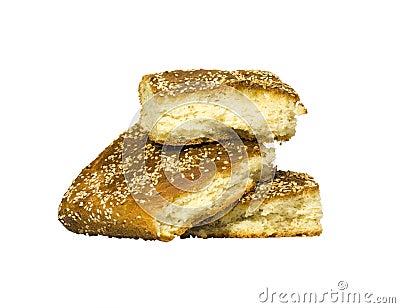 Piramide van brood