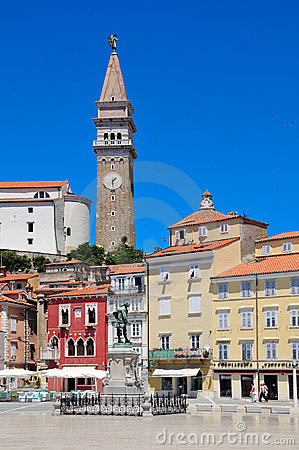 Piran - picturesque Adriatic city