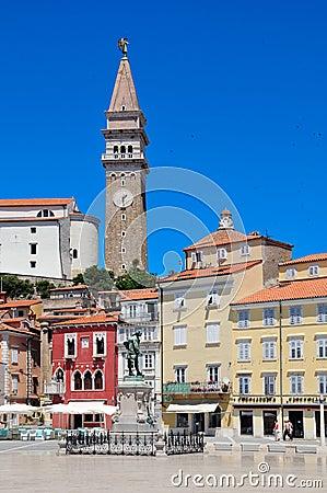 Piran - picturesque Adriatic city